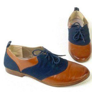 Modcloth Restricted Reading Room Romance Oxfords
